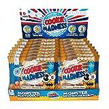 Madness Nutrition Cookie Madness Eiweiß Keks Box, 12 x 106g, (Chocolate Fudge Brownie Beas)