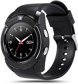 smartwatch wodoodporny sportowy męski inteligentny zegarek karta SIM Android aparat zaokrąglona odpowiedź połączenie połąc...