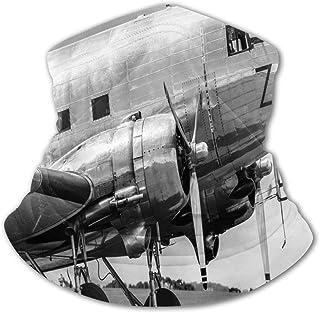 Verctor Pañuelo para niños, Cubierta Facial, avión Vintage, avión de pasajeros Antiguo, Cabina de piloto, Motor Antiguo, h...