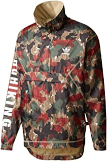 adidas Men's Originals Pharrell Williams hu Hiking Camo Windbreaker
