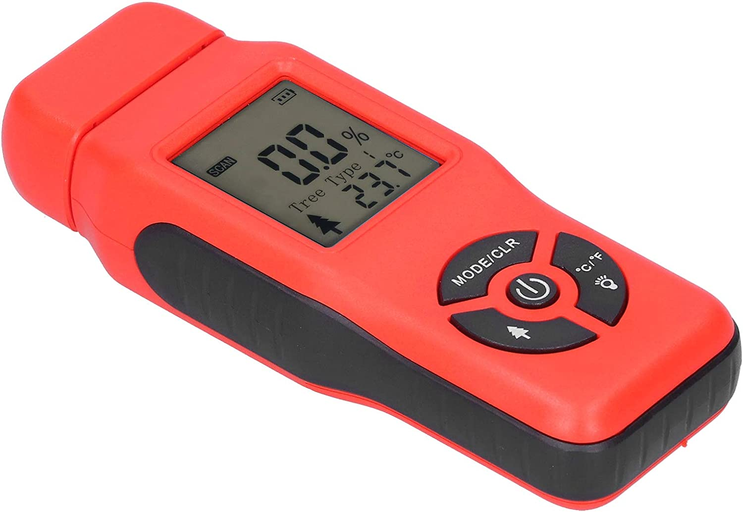 Outlet SALE Voluxe Moisture Detector LCD Material National uniform free shipping Wood ABS Display