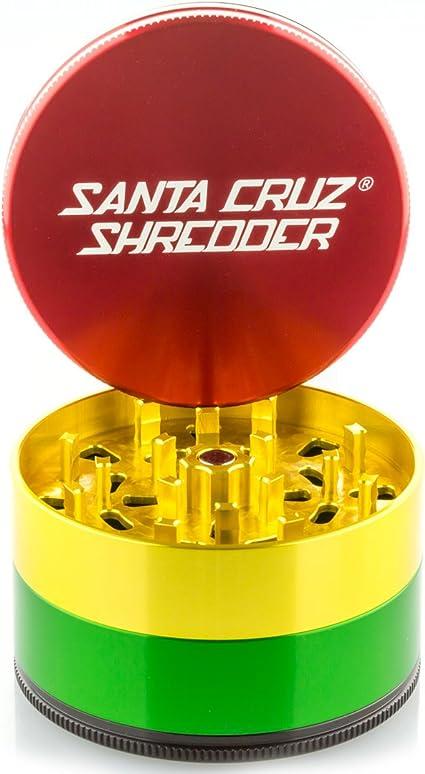 Santa Cruz Shredder Jumbo 4 PC Grinder Rasta