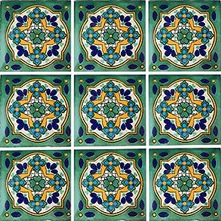 Color y Tradicion 9 Mexican Tiles 4