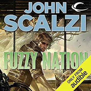 Fuzzy Nation                   Auteur(s):                                                                                                                                 John Scalzi                               Narrateur(s):                                                                                                                                 Wil Wheaton,                                                                                        John Scalzi - introduction                      Durée: 7 h et 19 min     168 évaluations     Au global 4,7