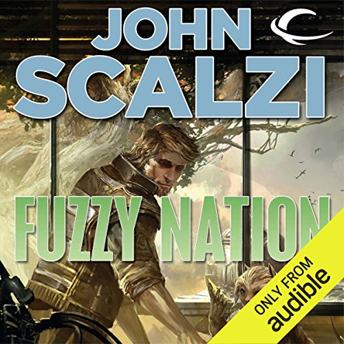 Fuzzy Nation audiobook cover art