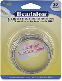 925 Sterling Soft Round Wire .5mm 24 Guage Wire 1 Metre