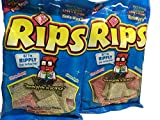 Rips Strawberry and Greenapple Licorice Pieces, 4 Ounce Bags, 2-bags