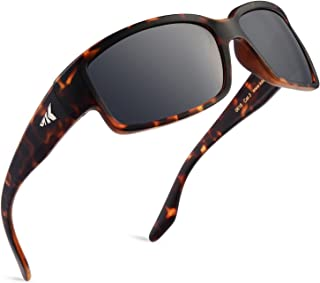 Skidaway Gafas de Sol Deportivas Polarizadas para Hombres y Mujeres, Ideales para Conducir Pesca, Ciclismo y Carrera, Protección UV
