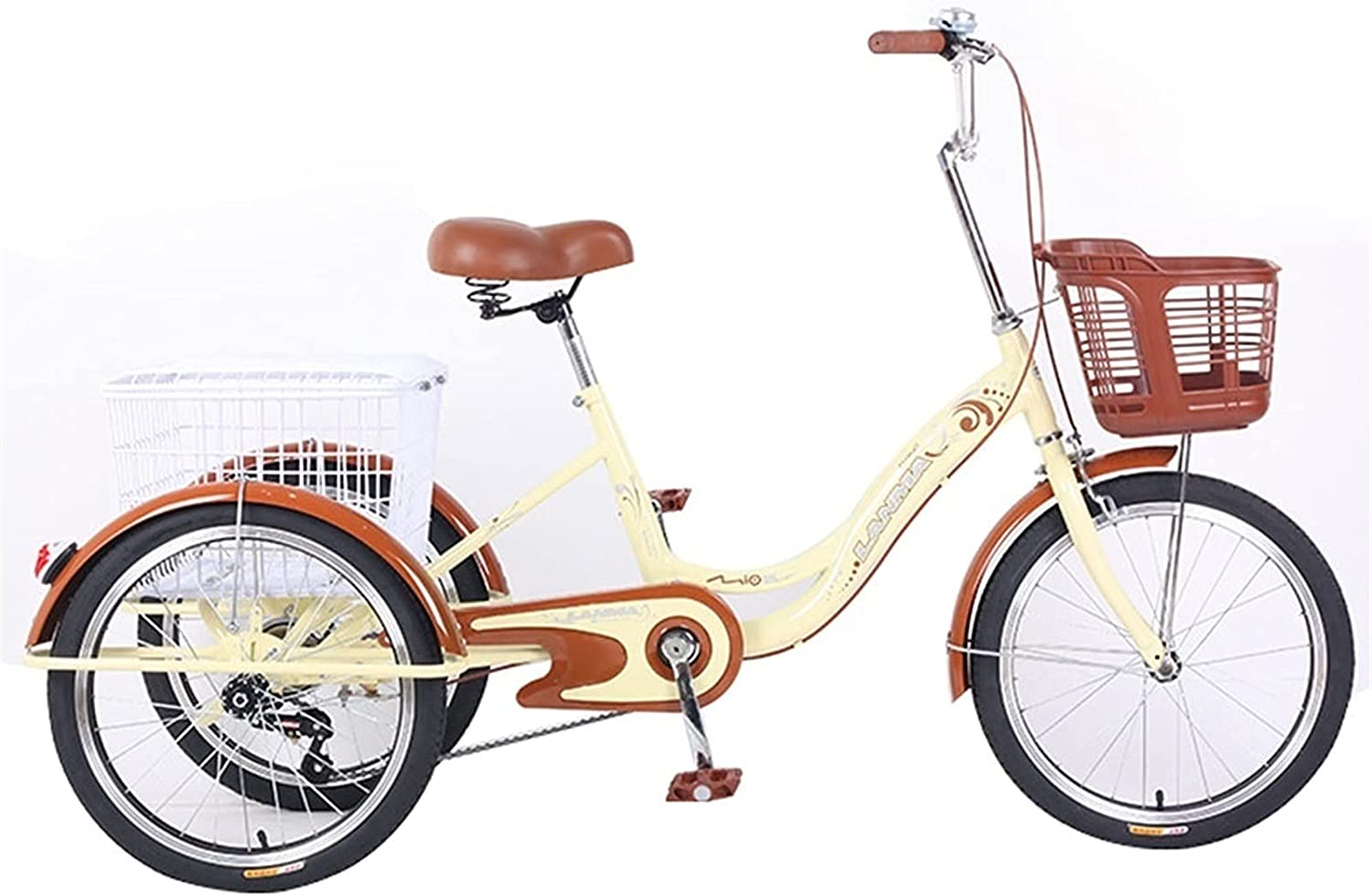 YXYH Adult Tricycles Human 3 Wheel 20 Max 89% OFF Inc 1 Bicycle San Jose Mall Speed Trikes
