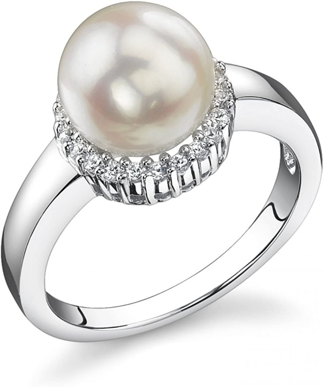 Max 59% OFF THE PEARL SOURCE 8-8.5mm Genuine Saltwater Cheap bargain White Japanese Akoya