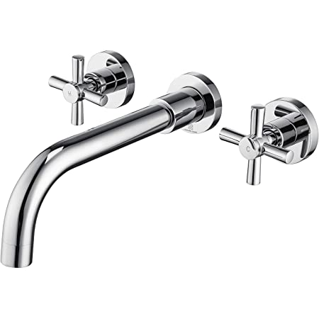 American Standard 2064451 002 16 1 In Wide X 13 In Tall X 3 4 In Deep Chrome Touch On Bathroom Sink Faucets Amazon Com