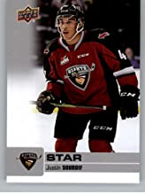2019-20 Upper Deck CHL Hockey #326 Justin Sourdif SP Short Print Vancouver Giants Official Canadian Hockey League Trading Card From The UD Company