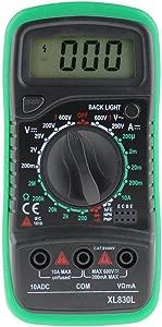 Everpert Digital LCD Multimeter Voltmeter Ammeter AC DC OHM Volt Tester Test Current