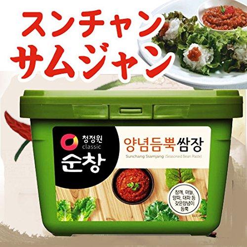 4位:『韓国調味料 スンチャン サムジャン』