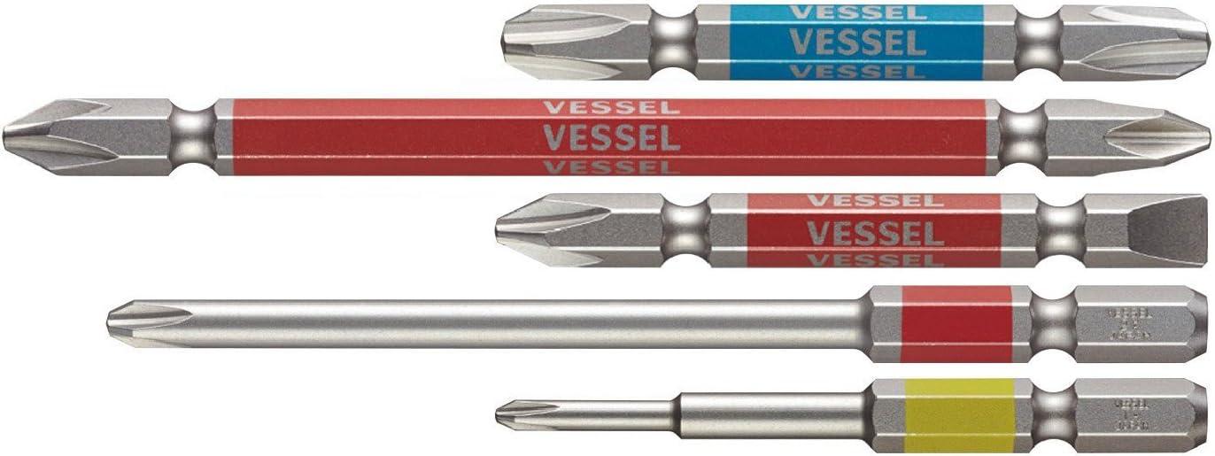 VESSEL GO-SAI Brand Philadelphia Mall new Bit No.GS5P-01 Assorted Japan Set Import 5PC