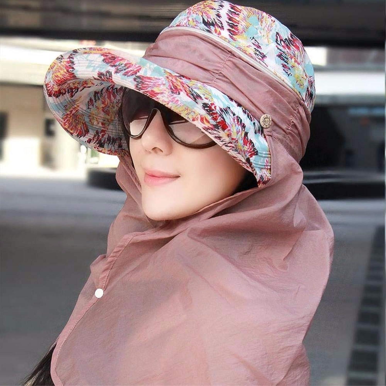 Chuiqingnet Hat female summer beach hat cap the cervical cap sun cycling caps Hats