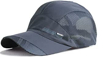 YING LAN Men's Autumn Outdoor Sport Baseball Hat Running Visor Sun Cap