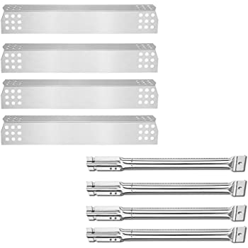 Master Forge 1010037 Gas Grill 4 Stainless Steel Heat Plate Replacement Part Kit