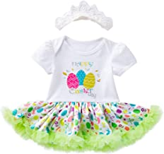 Baby Girl's 0-18 Months My First Easter Dress and Floral Headband Sets