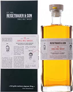 Reisetbauer & Son 15 Years Old Single Malt Whisky 48% Volume 0,7l in Geschenkbox Whisky