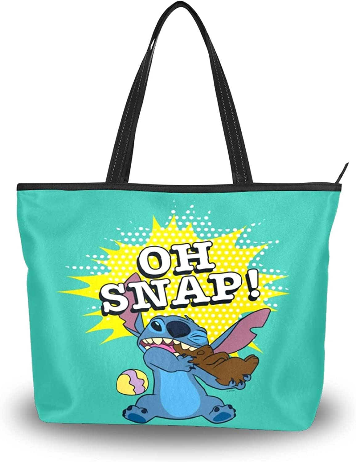 latest Las Vegas Mall Womens Tote Bag Shoulder Easter Stitch Handle Sa Top Oh Snap