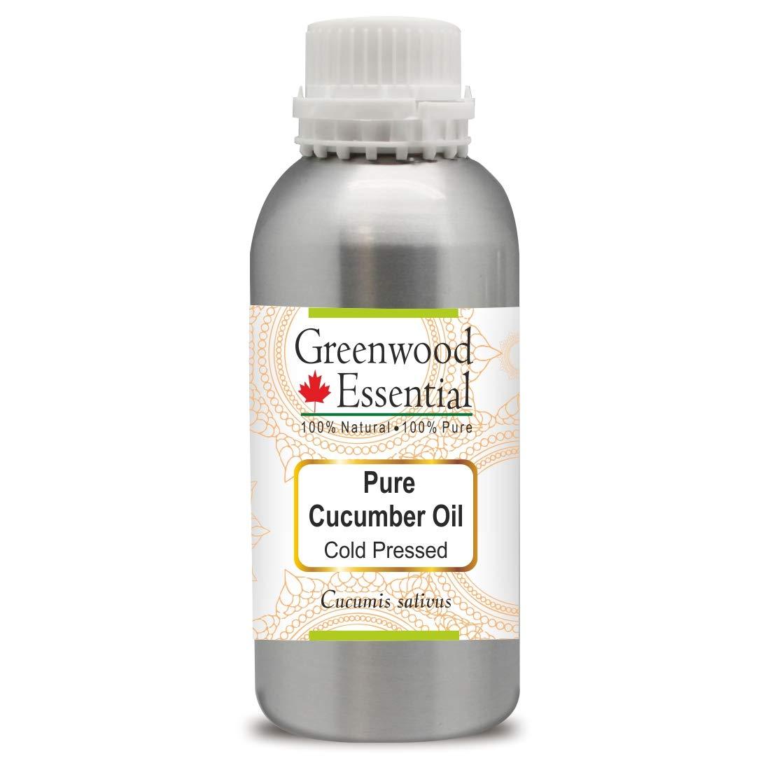 Greenwood サービス Essential Pure 大幅値下げランキング Cucumber Oil 100% sativus Cucumis Nat