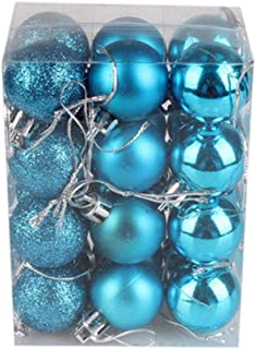 Christmas Tree Decor Ball,Jchen(TM) Clearance 30mm Christmas Xmas Tree Ball Bauble Hanging Home Party Ornament Decor