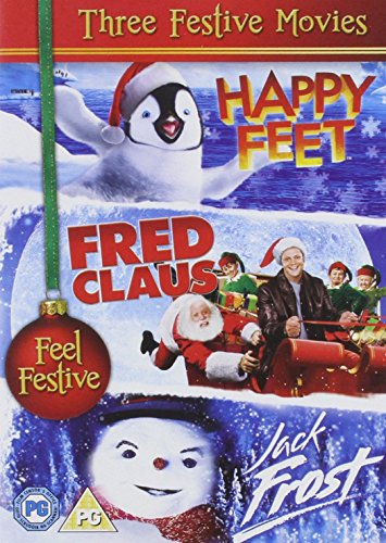 Jack Frost , Happy Feet, Fred Claus [UK Import]