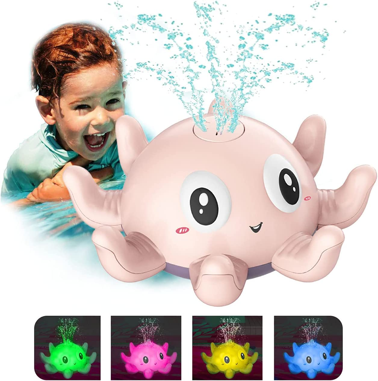 QINGBAO Max 89% OFF Baby sold out Bath Toys Toddlers Spray for Water