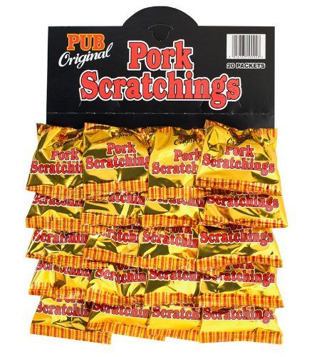Pub Original Pork Scratchings Card (20 packs)