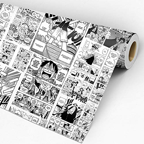 Papel De Parede Adesivo Lavável Quarto Mangá One Piece