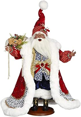 Mark Roberts 2020 Collection Travelling Santaof The Orient 24'', Figurine