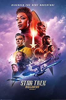 Star Trek Discovery Next Adventure Cool Wall Decor Art Print Poster 24x36