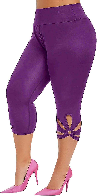 SASAS Women's Plus Size Active Max 59% OFF Challenge the lowest price Yoga Capri Stretch Lounge