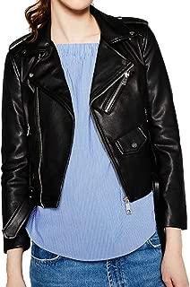 faux leather moto jacket canada