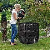 ZDYLM-Y Gartenkompost-Bin, Farm Compost Bin, Outdoor Compost-Tumbler, robuster Garten-Komposter mit...