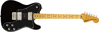 Squier by Fender Classic Vibe 70's Telecaster Deluxe Electric Guitar - Maple - Black