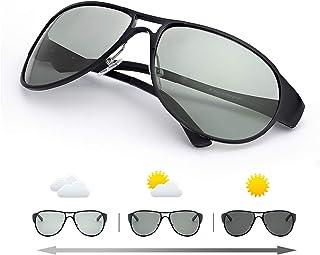 Gafas de sol Hombre Polarizadas Aviador Hombres Aviador Gafas de sol Polarizadas Hombre Unisex Protección- Protección 100% UVA/UVB