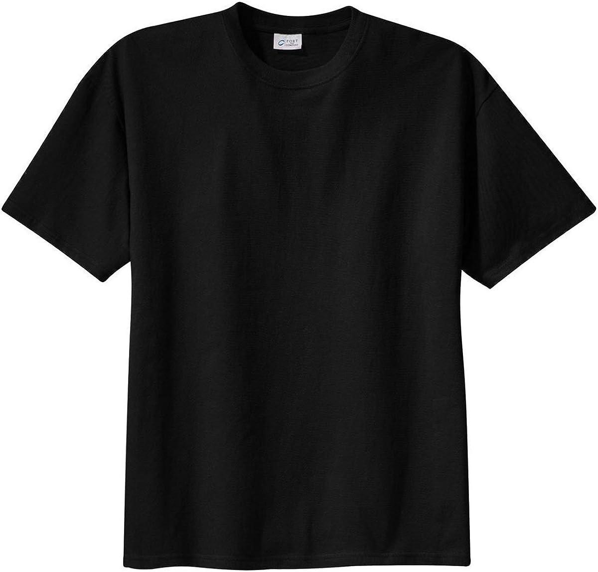 Port & Company Tall 100% Cotton Essential Tshirt PC61T [Misc.] Black
