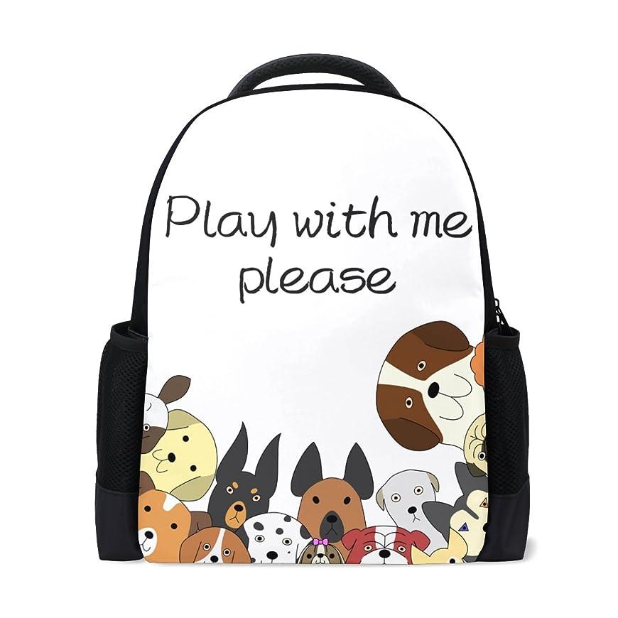 療法貢献妖精AOMOKI バッグ リュックサック 男女兼用 メンズ レディース 旅行 犬 猫