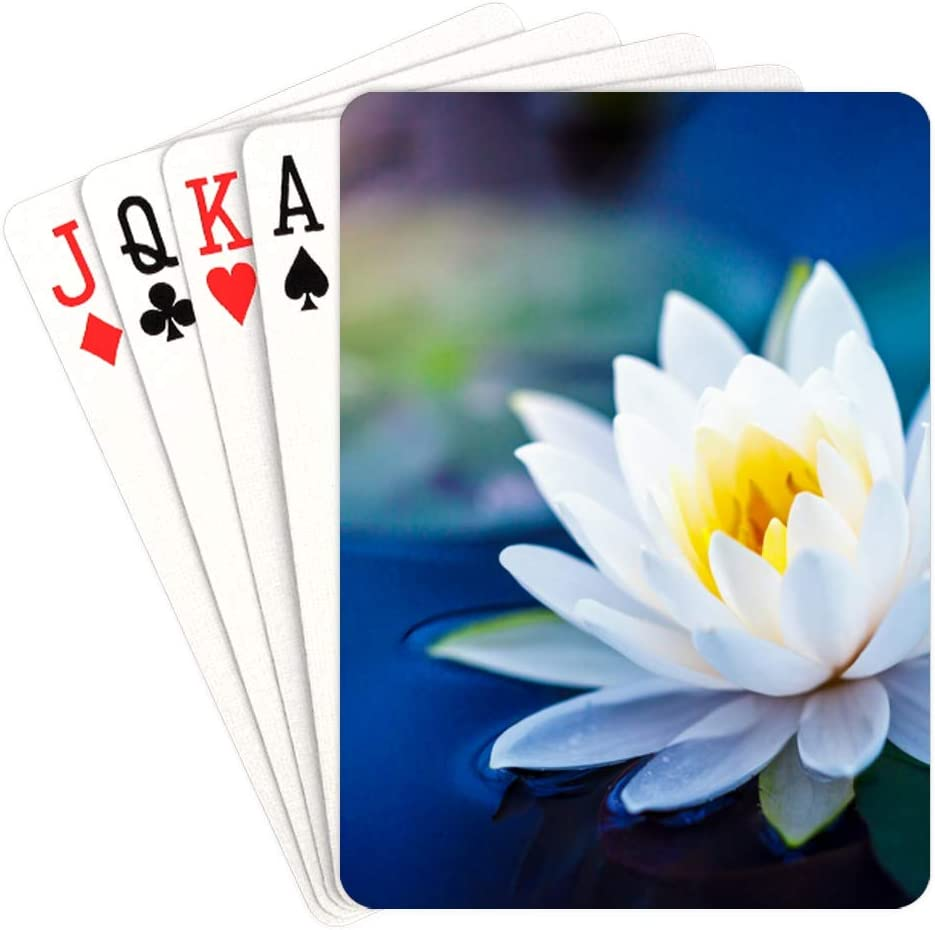 WUTMVING 70% OFF Outlet Custom Playing Card Water in Pla Childrens Ponds OFFicial site Lilies
