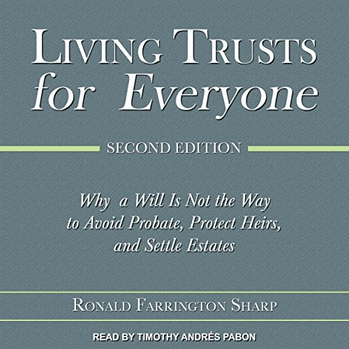 Living Trusts for Everyone, Second Edition audiobook cover art