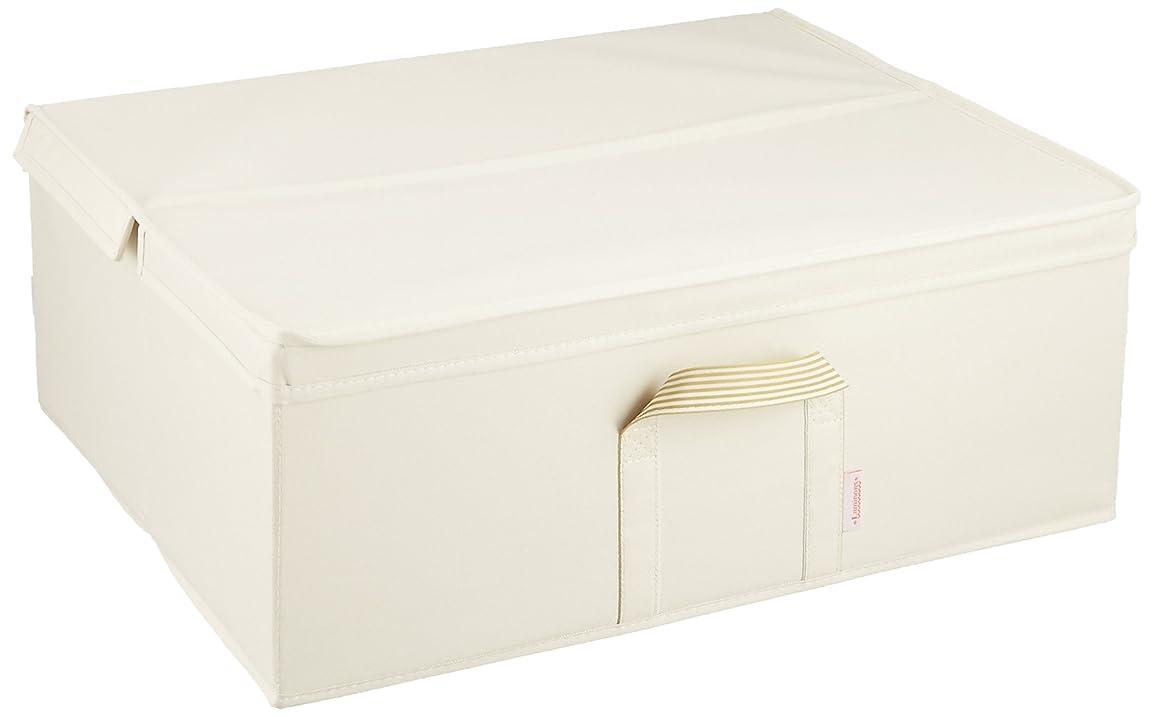 非公式取るルミナス メタルラック用 収納ボックス アイボリー 幅54×奥行43×高さ21cm LSB5443IV LSB5443IV