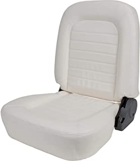 ProCar by Scat 80-1550-54R Beige Vinyl Racing Classic Low Back Recliner Right Seat