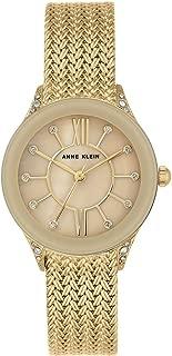 Anne Klein AK/N2208TMGB Analog Quartz Gold Watch
