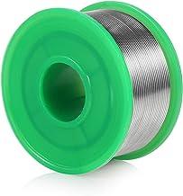 LYLIN Loodvrije soldeertin, 0,8 mm soldeertin, soldeerdraad loodvrij met vloeimiddel Sn 99.3 Cu 0,7 voor elektrisch solder...