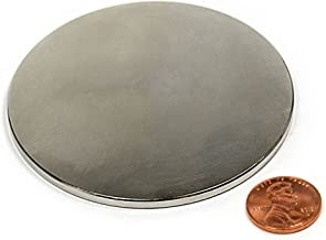 "N42 Disk Neodymium Magnet Dia 3"" X 1/8"" NdFeB Rare Earth 1-count"