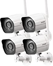 Zmodo Outdoor Security Camera (4 Pack), 1080p Full HD...