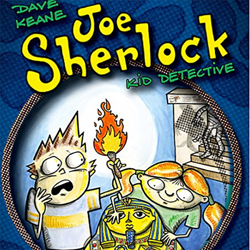 Joe Sherlock: Kid Detective, Case #000004 - The Headless Mummy audiobook cover art