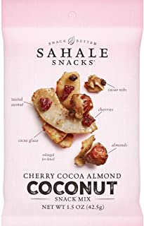 Sahale Snacks Cherry Cocoa Almond Coconut Snack Mix, 1.5 Ounces
